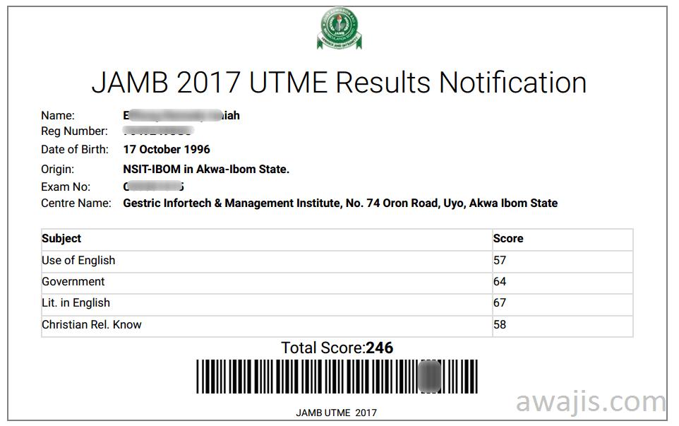 jamb-result-notification