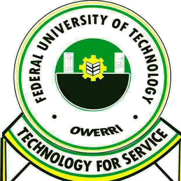 FUTO Supplementary Admission Form for 2019/2020