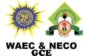 2019/2020 NECO GCE FORM REGISTRATION.