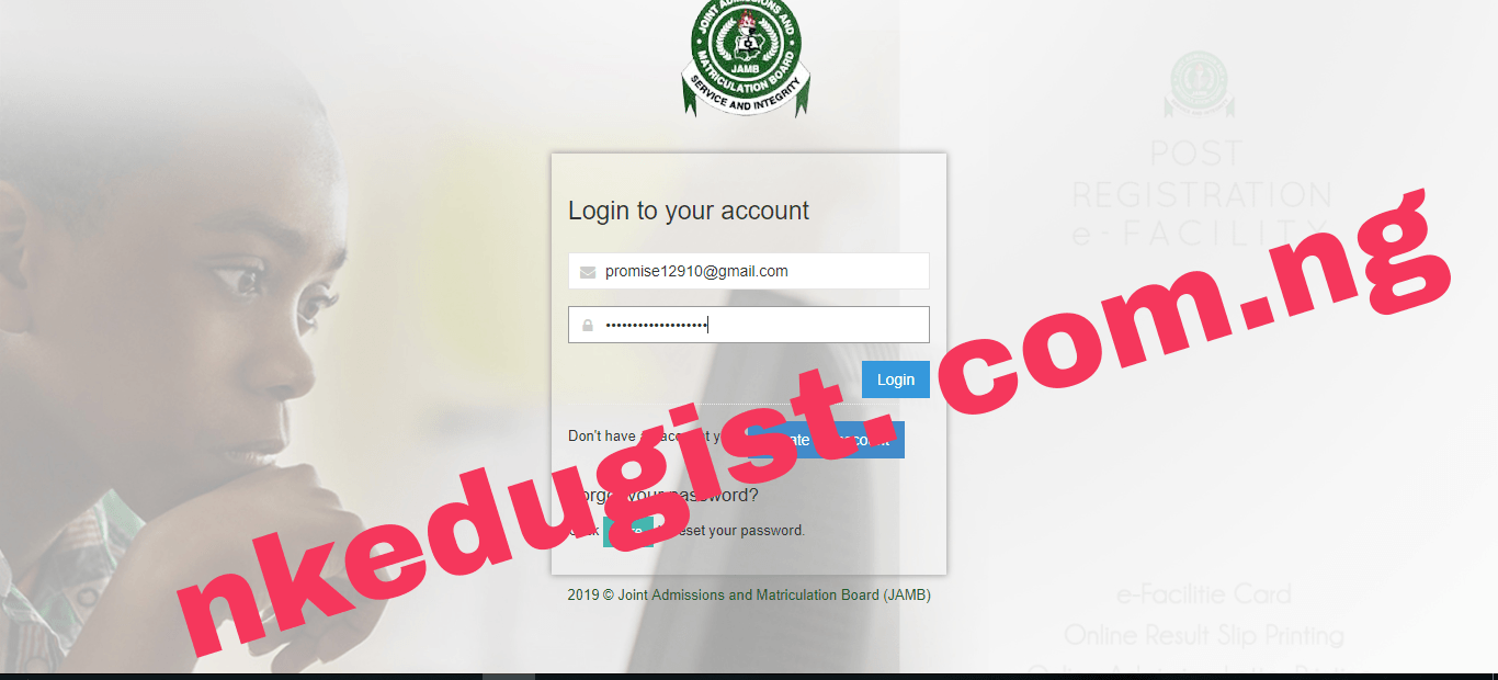 How To Check Jamb caps Accept admission status for 2020/2021