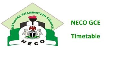 2020 NECO mathematics Questions