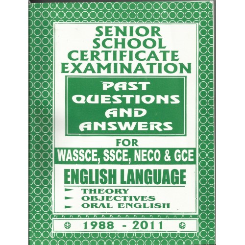 Waec English past questions and Answer