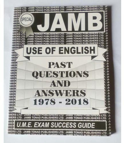 Download Jamb Past Questions and Answer In English Language for 2020