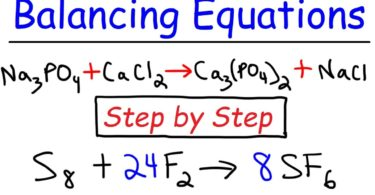 Balancing of chemical equation