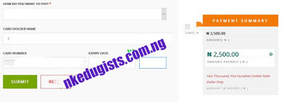 JAMB Change of Course-Institution Correction
