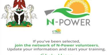 N-power recruitment application closing date