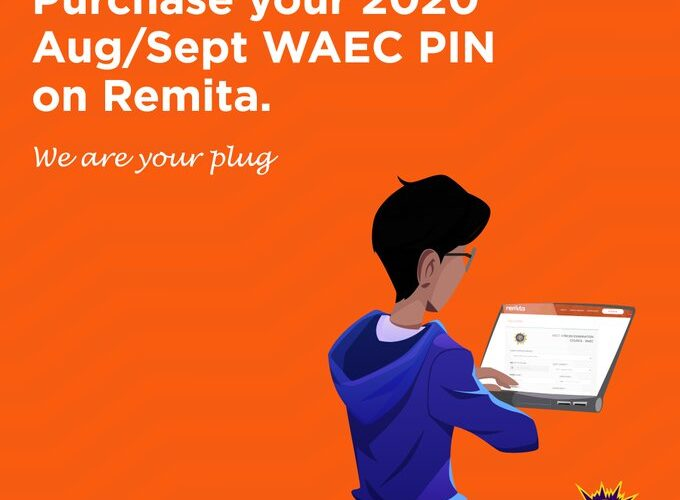 Purchase of Aug/Sept 2020 Waec Pin is Now Available On Remita