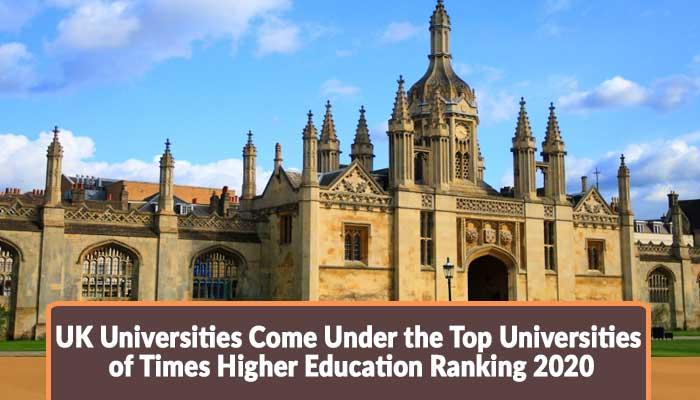 Uk university ranking 2020