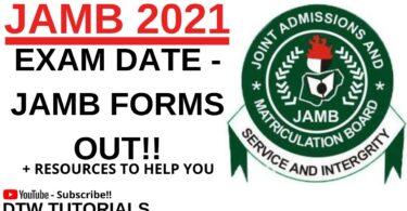 Jamb 2021 exam date