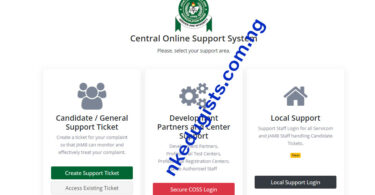 how to receive Jamb Profile Code